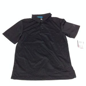ZeroXposur Women's Golf Polo Shirt Black Size M